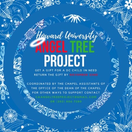 Howard University, Andrew Rankin Memorial Chapel, Angel Tree