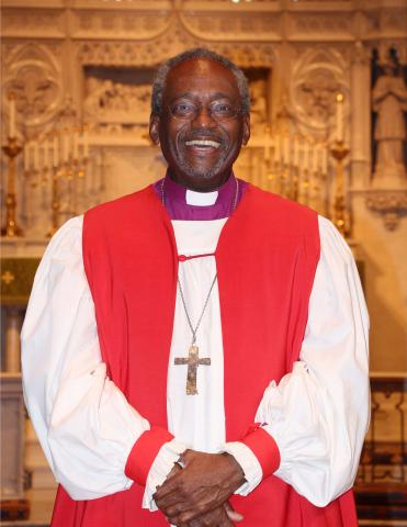 The Most Reverend Michael Bruce Curry The Most Reverend Michael Bruce Curry